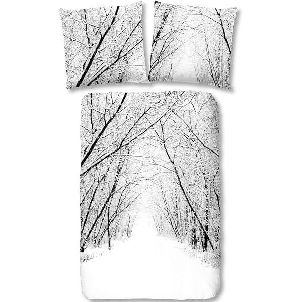 Good Morning Bedlinens Flanell Bettwäsche Forest 135X200 cm