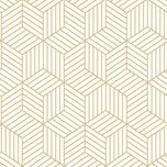 "RoomMates Tapete ""Hexagon"" L500 x B50 cm selbstklebend"