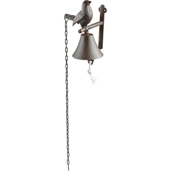 esschert design Gusseisen Türglocke Vogel