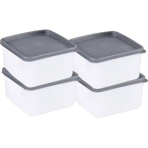 4er-Set Frischhaltedosen -40°C Bis 90° 0,5 L
