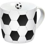 Porzellan Tasse Fußball 300ml