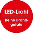EASYmaxx LED-Fackel mit Flammeneffekt batteriebetrieben