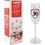 """Sektglas """"Happy Birthday 30"""" 200ml"""