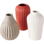 BOLTZE 6-tlg. Set Vase Milvana H14cm