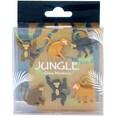 6-tlg. Glasmarkierer Dschungel