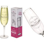 Xxl-Prosecco-Glas Save Water Drink Prosecco  Für Ca. 850 ml Ca. 35 cm