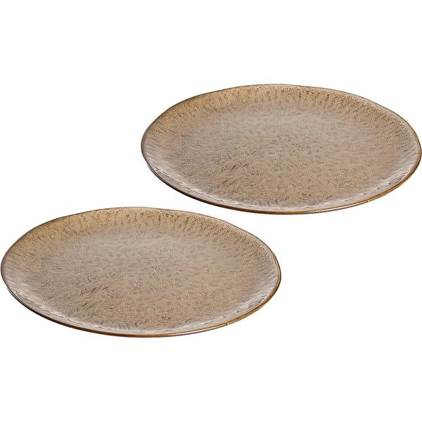 LEONARDO 2er-Set Keramik Teller Ø27 cm