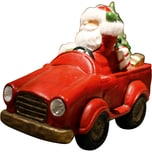"BOLTZE Leuchtobjekt ""Santas Auto"" 2 LEDs H31 cm batteriebetrieben"