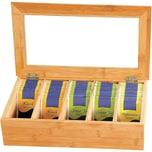 Kesper Bambusholz Tee-Box