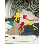 """Kikkerland 12er-Set Sockenhalter """"Affen"""" für Waschmaschine"""