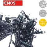 EMOS Outdoor-Lichterkette warmweiß 180 LED's mit Timer 18m