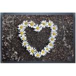 """ACHOKA® Fußmatte """"Flower"""" 40x60 cm"""