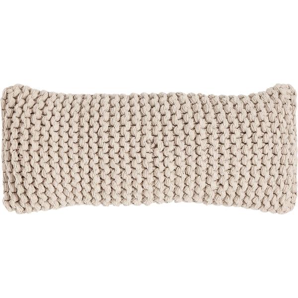 """Linen & More Dekokissen """"Knit"""" 30x70 cm"""