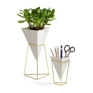 umbra 2er-Set Vase Aufbewahrung Trigg Vessel