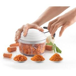 Mixer Gemüse- Zwiebelhacker Rotomac mit Zugband 0,9l