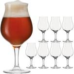LEONARDO 8er-Set Biertulpen Taverna 0,33l