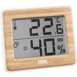 Ade Thermometer Hygrometer Bambus