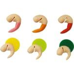 """6er-Set Glasmarkierer """"Shrimp"""""""