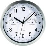 Mebus Quarz Wanduhr Mit Thermometer Hygrometer Ø225 cm