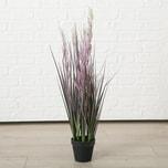 Kunstpflanze Schilfrohr im Topf H80 cm