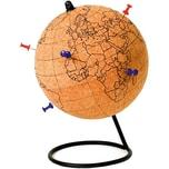 Kork Globus zum Bemalen mit Pin-Nadeln Buntstiften