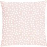 Linen & More Allover Dots Kissenhülle rosa