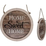 Out of the Blue Holz Schild Home Sweet Home Ø 32cm