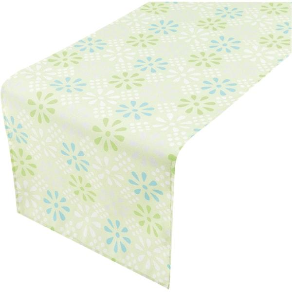 2LIF Tischläufer Daisy Flower für Outdoor L140 x B40 cm