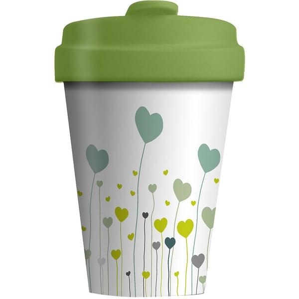 "Bambus Coffee to go Travel Mug ""Field of Love"""