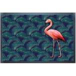 "ACHOKA® Fußmatte ""Flamingo"" 40x60 cm"