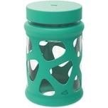 LEONARDO Glas Speisegefäß mit Silikonmantel 760 ml