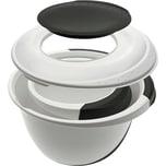 keeeper 4tlg. Rührschüssel-Set Camilla mit Spritzschutz und 2in1 Deckel und Teigschaber