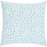 Linen & More Allover Dots Kissenhülle blau