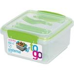 Sistema Lunchbox To Go Mit Besteck 12 L