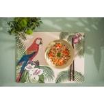 """Contento 4er-Set Platzset """"Colonial Parrot"""" 40x30 cm"""