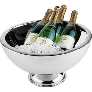 Doppelwandiger Edelstahl Champagner-Kühler ø44 cm