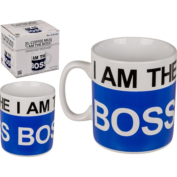 Out of the Blue Becher I am the Boss