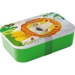 Ppd Bambus Brotdose Happy Lion H6,5 X B19,8 X T12,8 cm