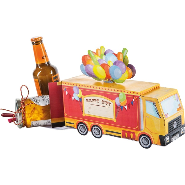 Donkey Products Geschenkbox Circus Truck