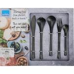 Amefa 10-tlg. Edelstahl Besteck-Set perfekt zum Anrichten Servieren von Speisen