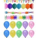 14-Tlg. Partyset Geburtstag