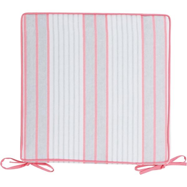 2Lif Outdoor-Sitzkissen Classic Stripe 40x40 cm