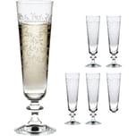 "BOHEMIA Selection 6er-Set Sektglas ""Provence Panto"" 205ml"
