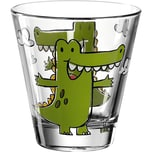 "LEONARDO 6er-Set Trinkgläser ""Krokodil Bambini"" 215 ml"