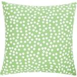 Linen & More Allover Dots Kissenhülle pepermint grün