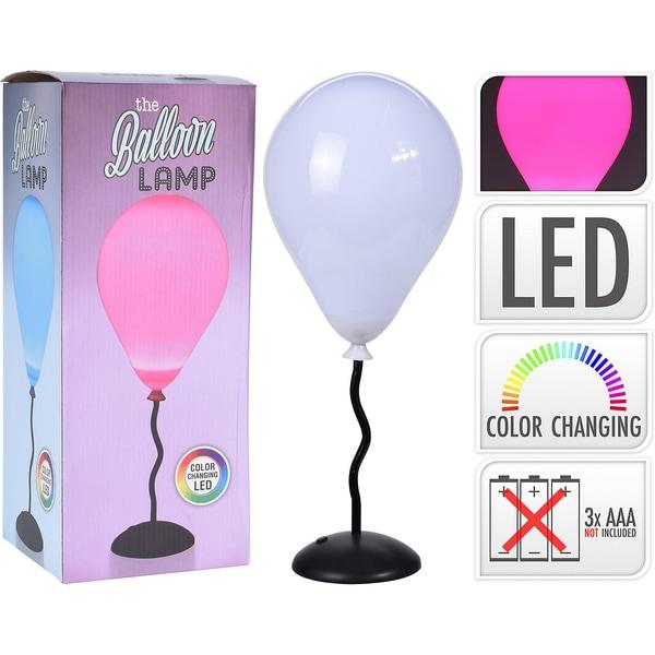 LED-Tischleuchte Balloon Lamp mit Farbwechsel Batteriebetrieb