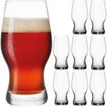 Leonardo 8er-Set Bierglas Taverna 0,5l