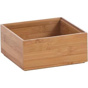 Zeller Present Aufbewahrungs-Kiste Bamboo 15x15x7 cm