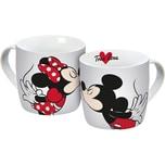 """Porzellan Tasse """"Mickey Minnie Kiss"""" 300ml"""