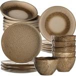 LEONARDO 24-tlg. Keramik Set MATERA sand